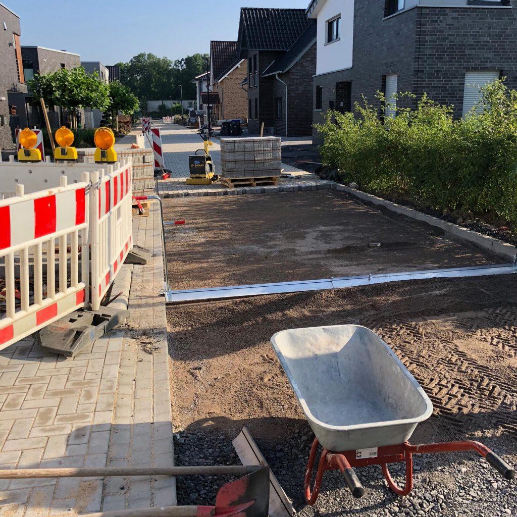 Halimi Pflasterbau Projekt Bauarbeiten im Einfahrts- und Straßenbereich